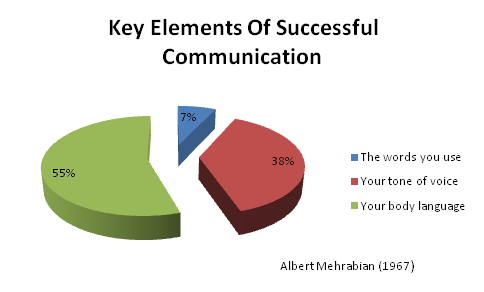 communication percentages pie chart dolapmagnetbandco
